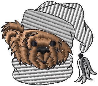 Pejsek v čepici