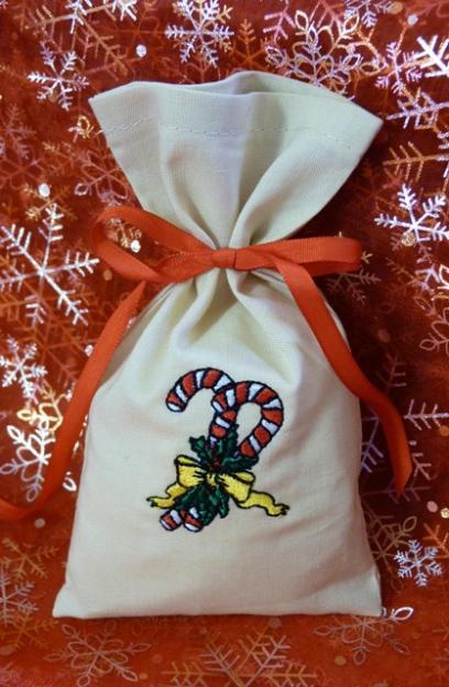 Dárkový pytlík vánoční
