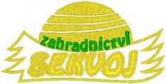 Logo zahradnictví Sekvoj