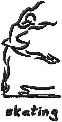 Bruslařka levá