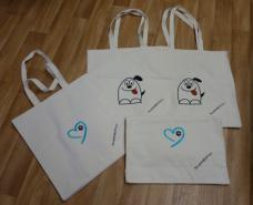 Nákupní tašky s výšivkami