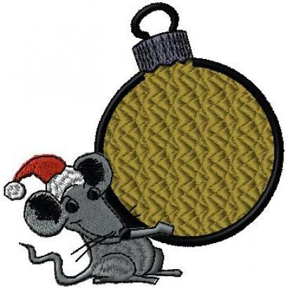 Vánoční myška