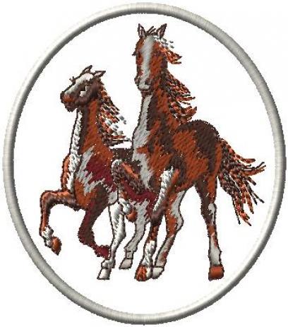 Kůň obrys